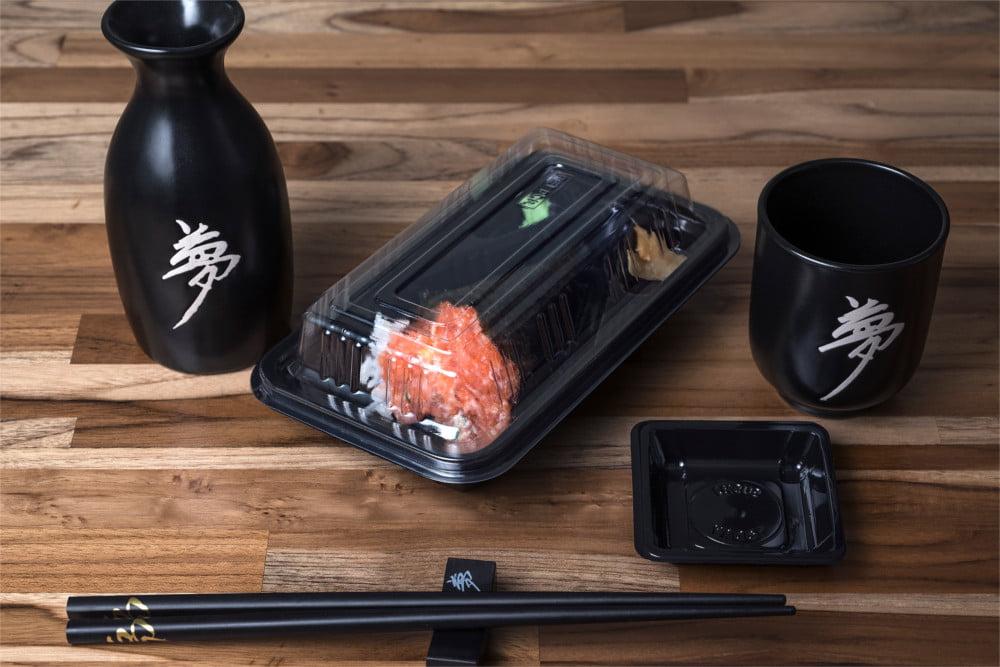 Embalagem para Temaki Descartável - Sushi Today 200 unidades