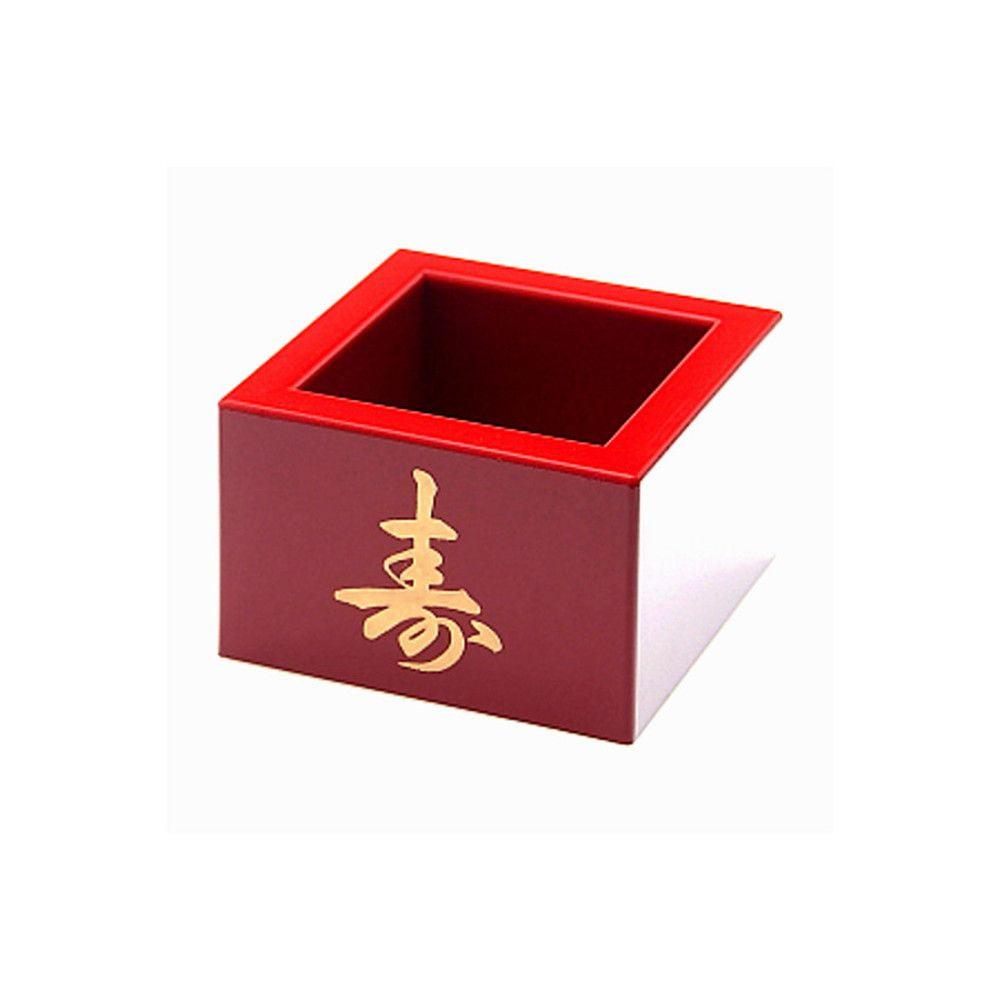 Copo Quadrado para Servir Sake Massu - Vinho