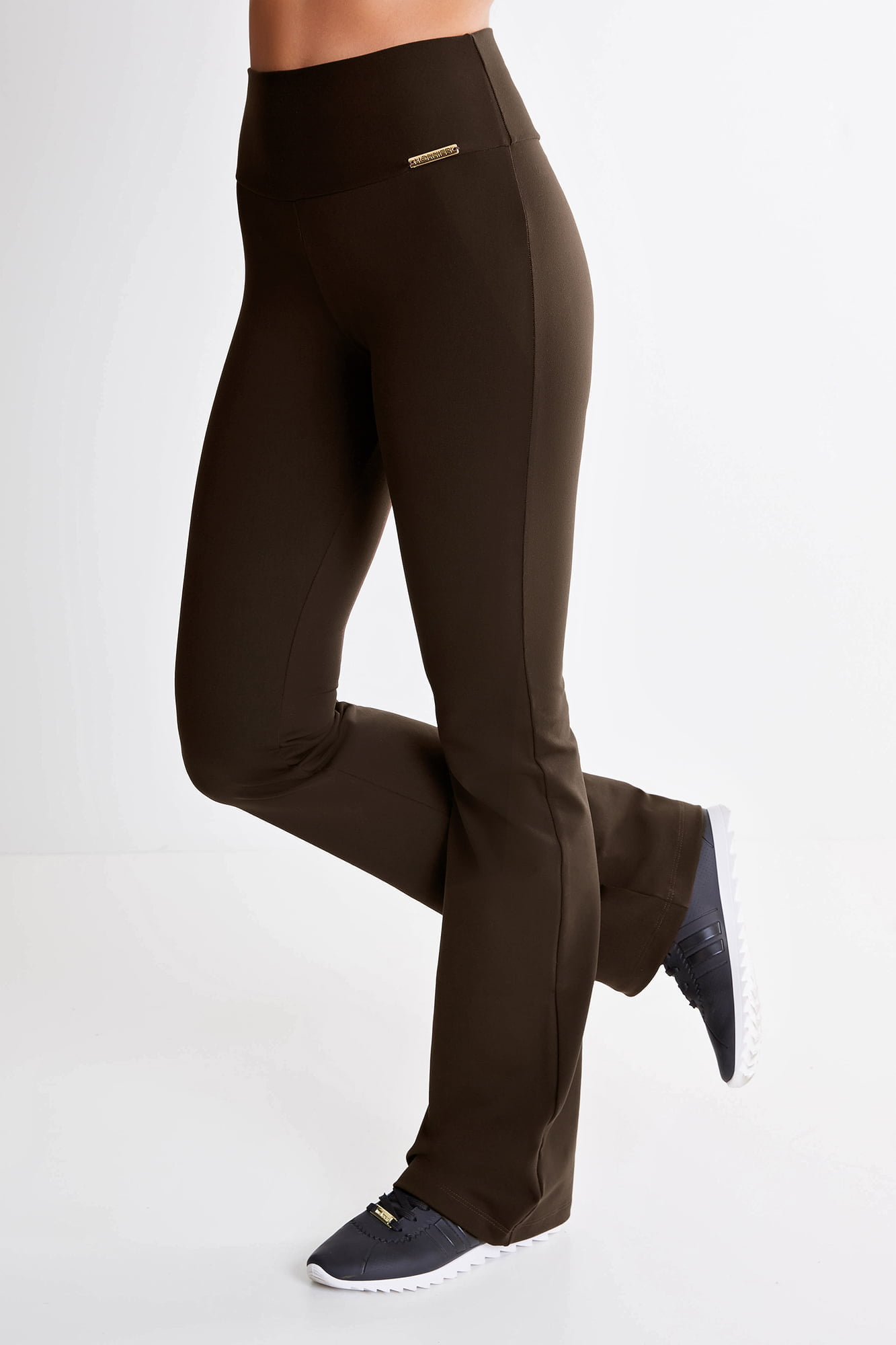 Calça Bailarina Marrom