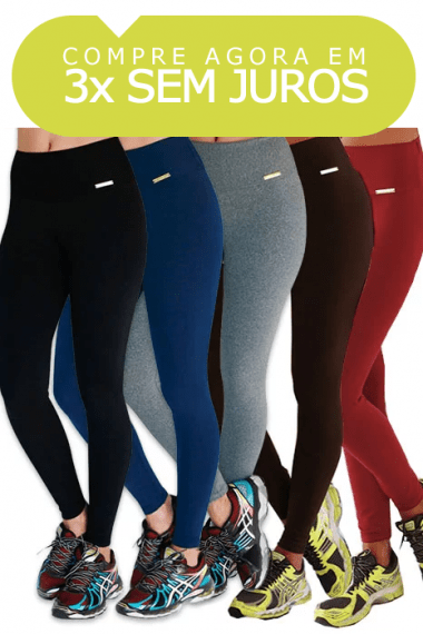 KIT 4 LEGGING LISA