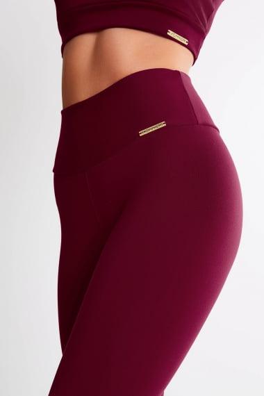 Legging Bordo Mulheres Altas  - Comprimento Personalizado