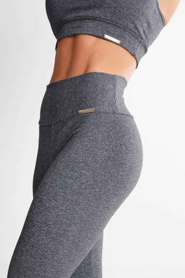 Legging Cinza Escuro Mulheres Altas - Comprimento Personalizado
