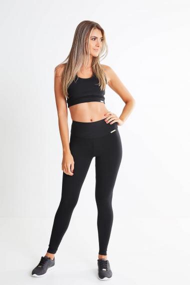 Legging Preta Mulheres Altas  - Comprimento Personalizado