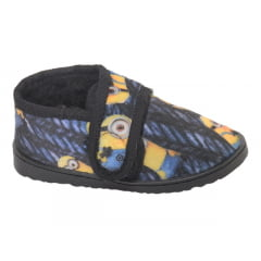 Pantufa Infantil com Fechamento em Velcro | Minions
