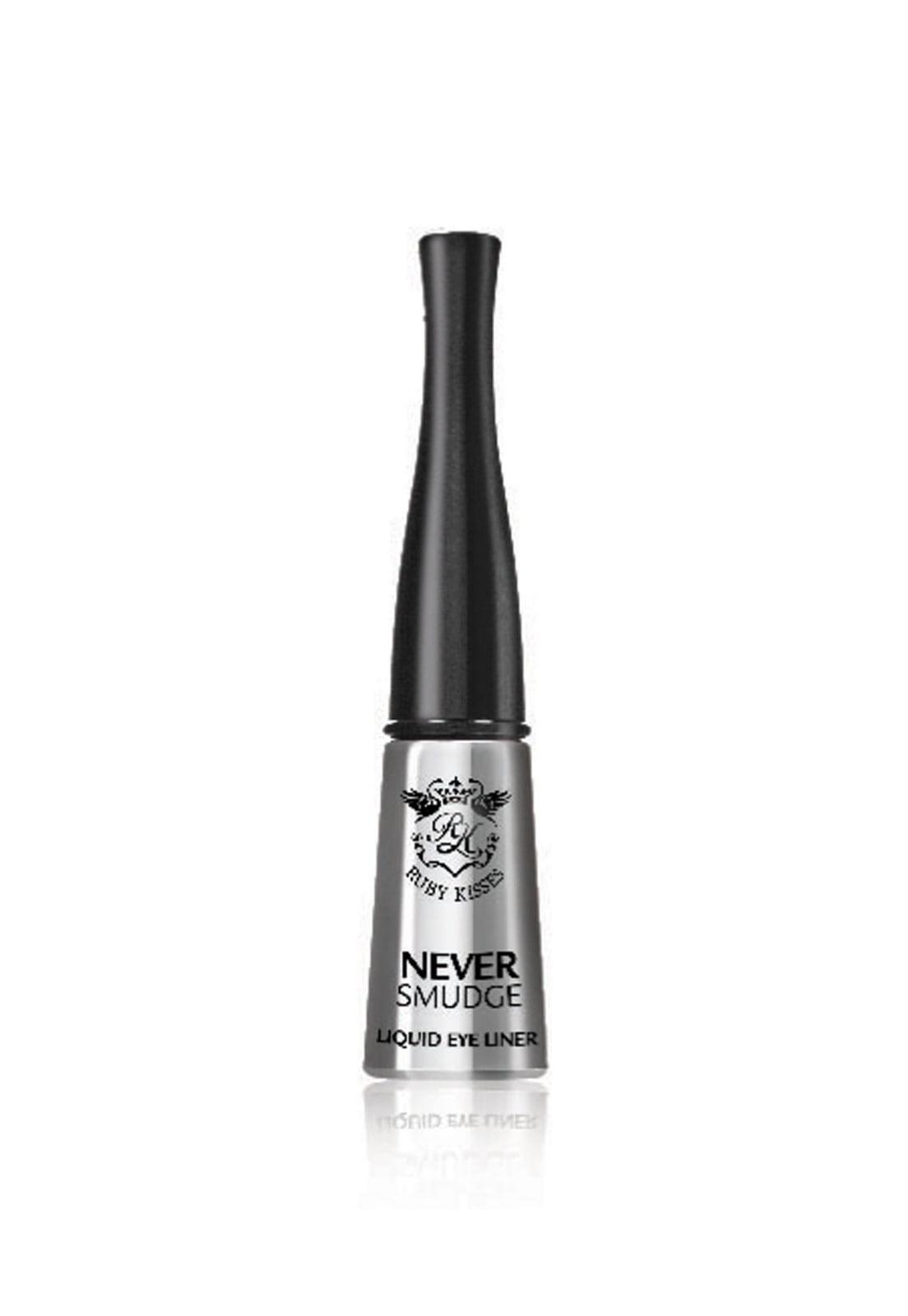 DELINEADOR RUBY KISSES NEVER SMUDGE LIQUID 10ML BLACK
