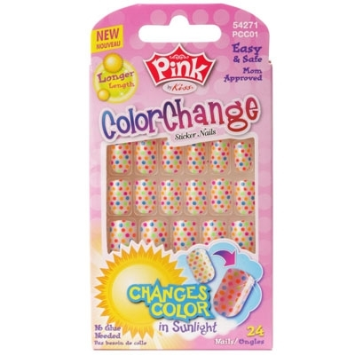UNHAS POSTIÇAS INFANTIL – Color Change - FIRST KISS 56060 FPCC01