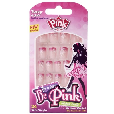 UNHAS POSTIÇAS INFANTIL – BE PINK - FIRST KISS - 56072 FPSP02