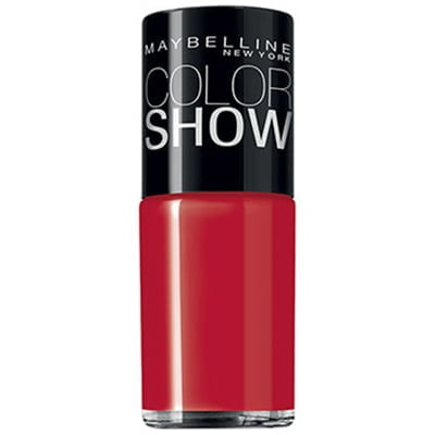 ESMALTE COLOR SHOW 10ML MAYBELLINE - 260 RED MADNESS
