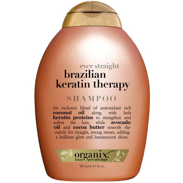 OGX BRAZIL KERATIN DEFRIZZ SHAMPOO-385ML