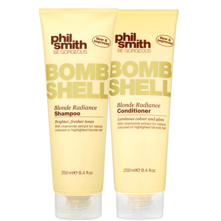 PHIL SMITH BOMB SHELL BLONDE RADIANCE DUO KIT (2 PRODUTOS)