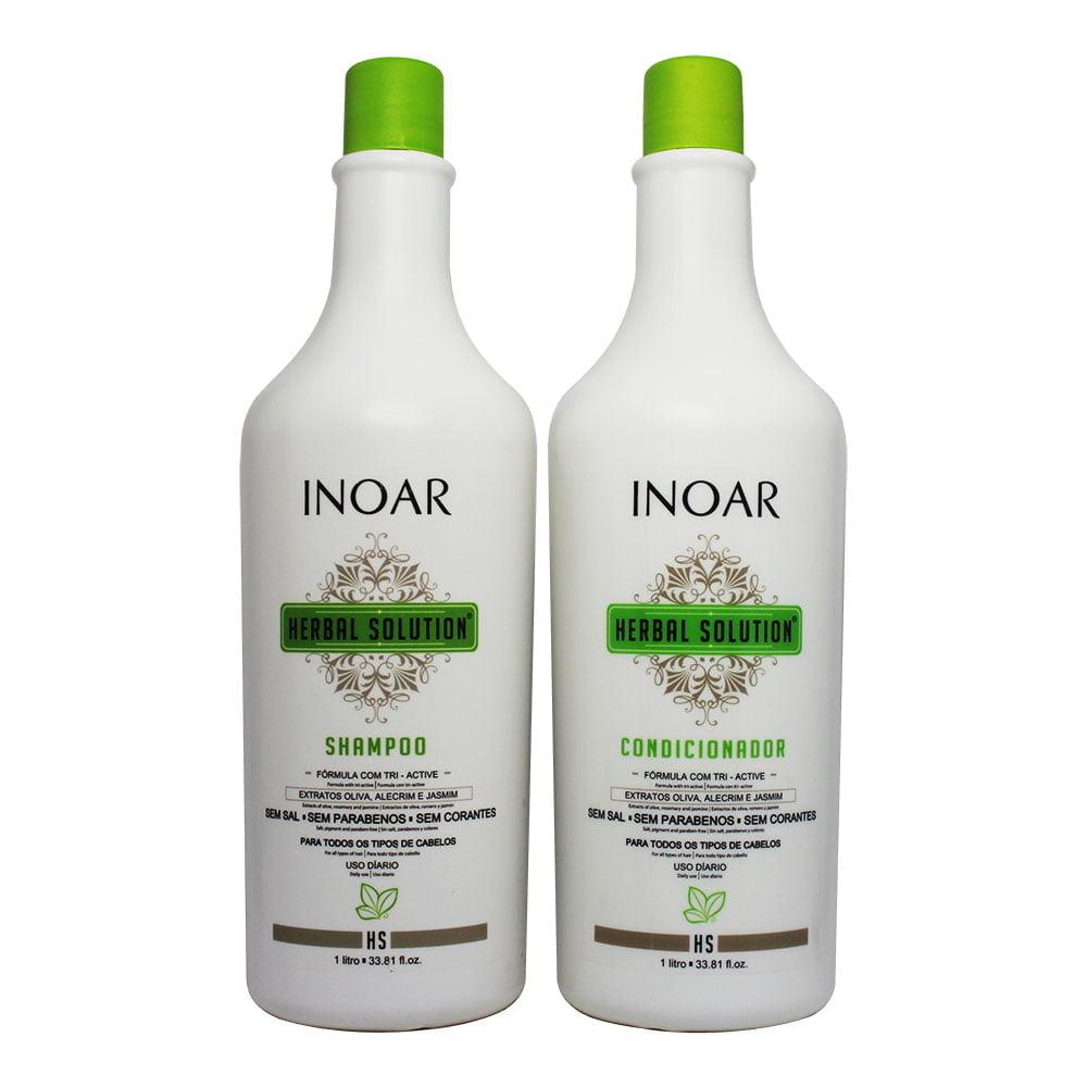 Inoar Herbal Solution Prossifional - Kit Inoar Shampoo e Condicionador