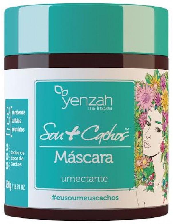MÁSCARA YENZAH -  SOU + CACHOS UMECTANTE - YENZAH