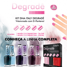 ESMALTES KIT DEGRADÊ COLEÇÃO COMPLETA - DNA ITALY