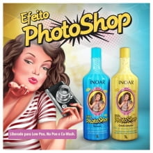 Kit Inoar Efeito Photoshop Shampoo 1000ml + Condicionador 1000ml
