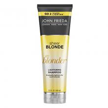 Sheer Blonde  GO Blonder Lightening  Shampoo Clareador - John Frieda