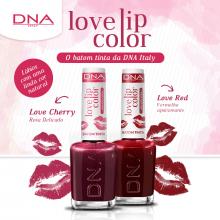 BATOM TINTA - LOVE LIP COLOR – LOVE RED – DNA ITALY