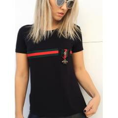 T-Shirt Gucci Inspired Preta