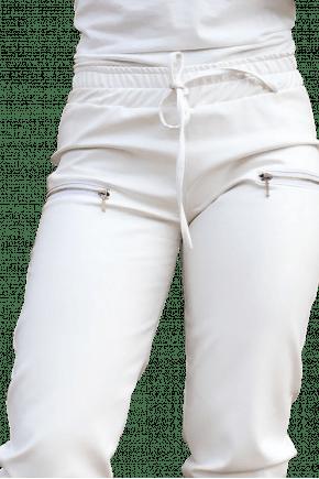 Calça Jogger Feminina Branca