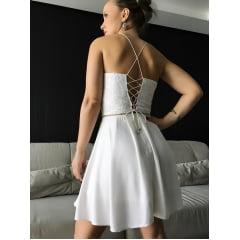Vestido Evase Branco