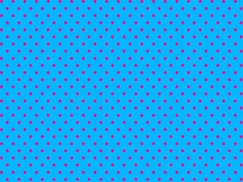 Bolinha Pequena Desenho 1662tk - Azul com Pink