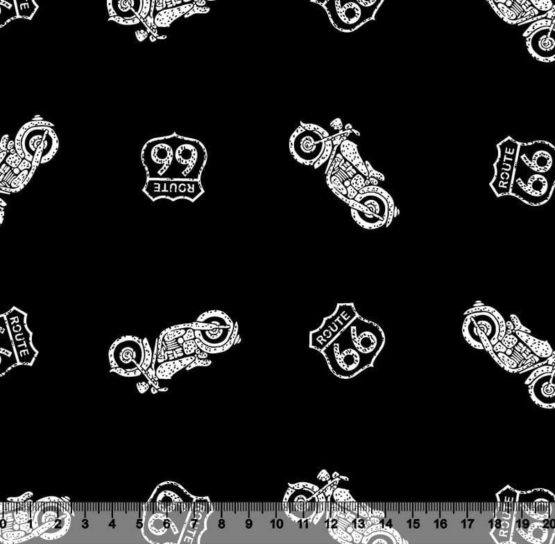 Moto Route 66 Des 3025 VAR01 - fundo preto