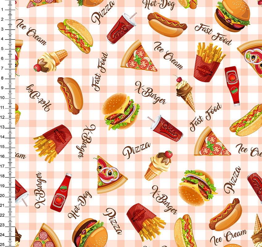 Pizza X-Burguer Hot-Dog Lanches - Des 45410 Var01