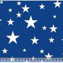 Estrelas Des 2907 Var04 -  fundo Azul royal