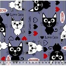 Gatos Desenho 3056 VAR03 - Azul