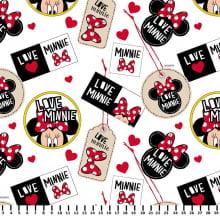 Minnie Tags Branco Disney MI004C01 - Fernando Maluhy