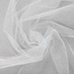 Tecido Filó p/ Armação Branco largura 3,00mt