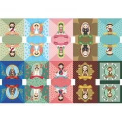 Tecido Tricoline Digital Kit Para Necessaire Religiosa 9100e1390