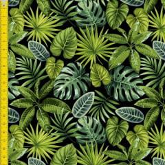 Tecido Tricoline Estampado Digital Costela Adão 9100e1312