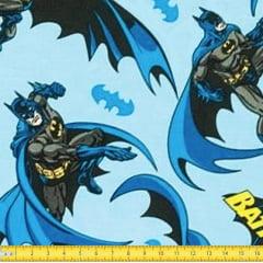 Tecido Tricoline Estampado Batman 09
